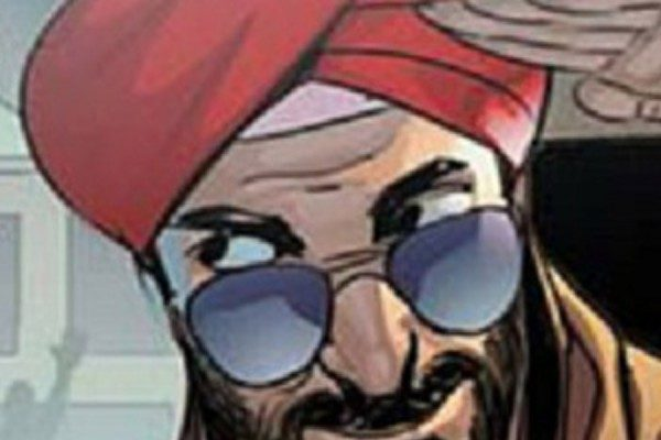 God of (Indie) Comics – Super Sikh 001