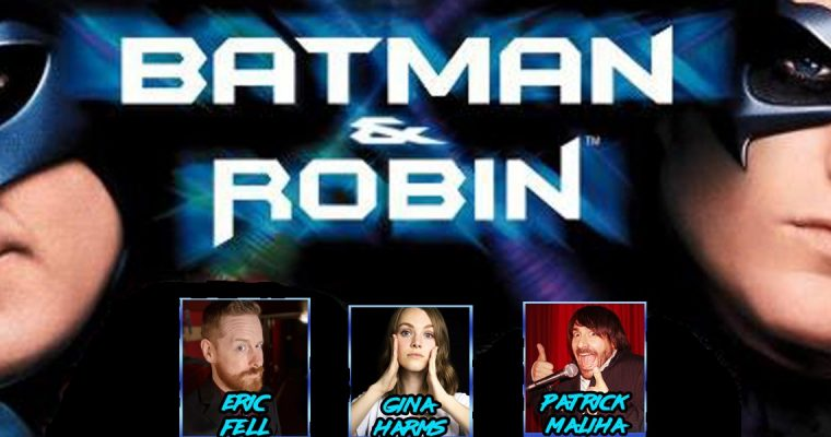Gentlemen Hecklers present Batman and Robin