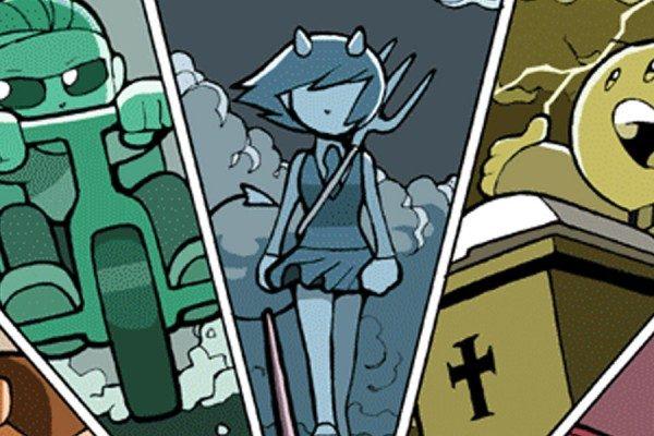 God of (Web) Comics – Sinfest