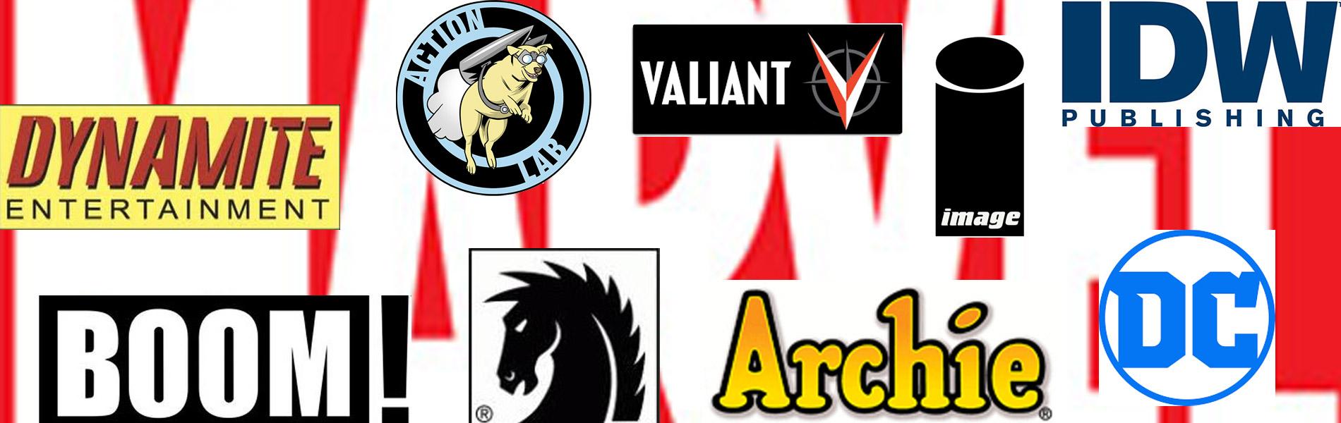God of Comics – Comic Publishers