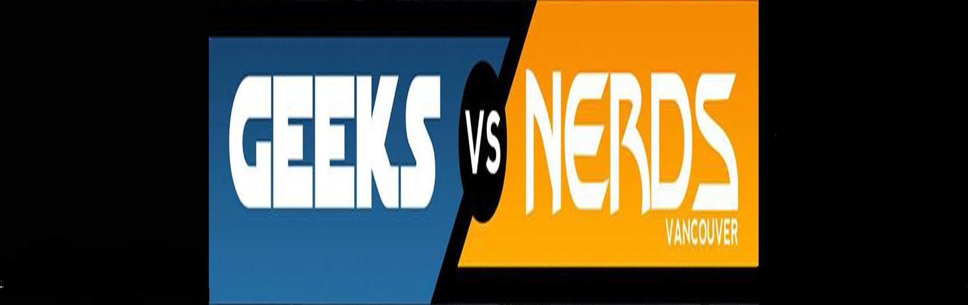 Geeks versus Nerds: October Spooktacular